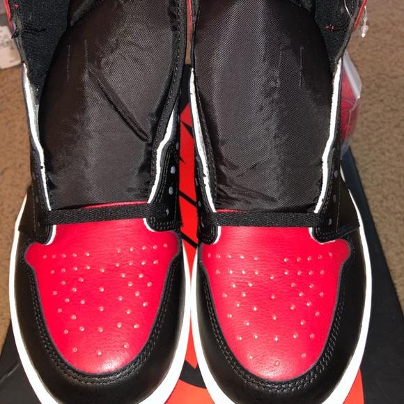 """san francisco d6d65 a506e Air Jordan retro 1 """"Bred Toe"""" NWT"""
